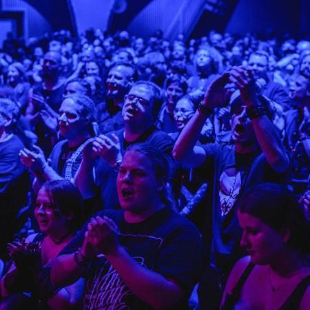 Das beste Publikum der Welt feiert die Auferstehung