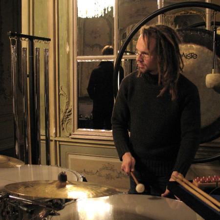 Lothar Weise und sein raumgreifendes Equipment