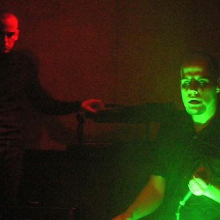 Mephisto und ASP gemeinsam on stage