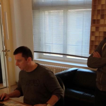 Thomas und Toby im Turnstyle Studio 2013