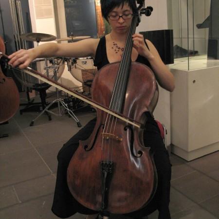 Katharina Kranich am Cello