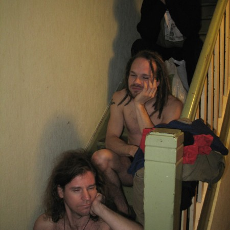 Die Chippendales vor der Morgentoilette