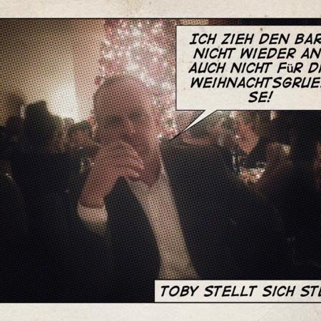 Toby bleibt hart