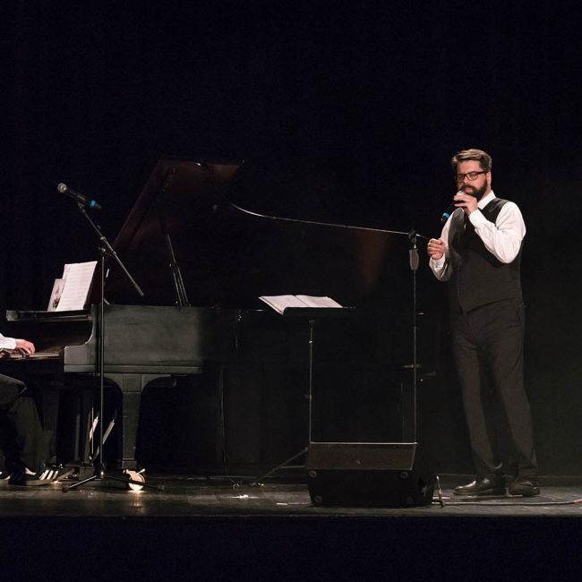 Vom Ensemble zum Duo geschrumpft: Toby und RIG am zweiten Tag in Mannheim.