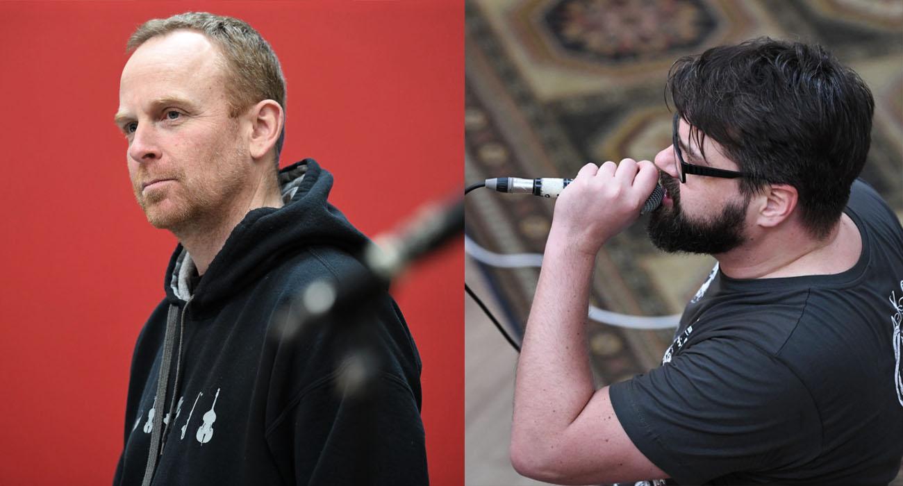 Tobias Hahn (Keyboards | links) und RIG (Gesang | rechts)